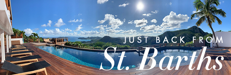 Just Back from St. Barths