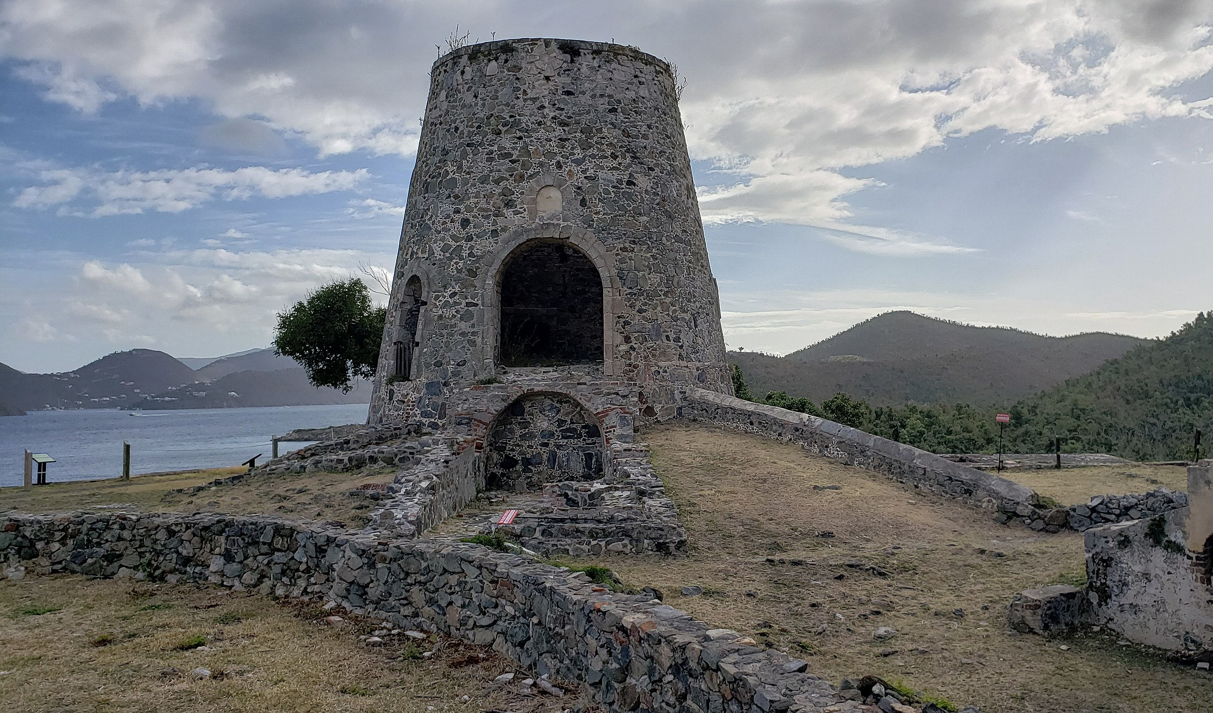 Annaberg Plantation Ruins