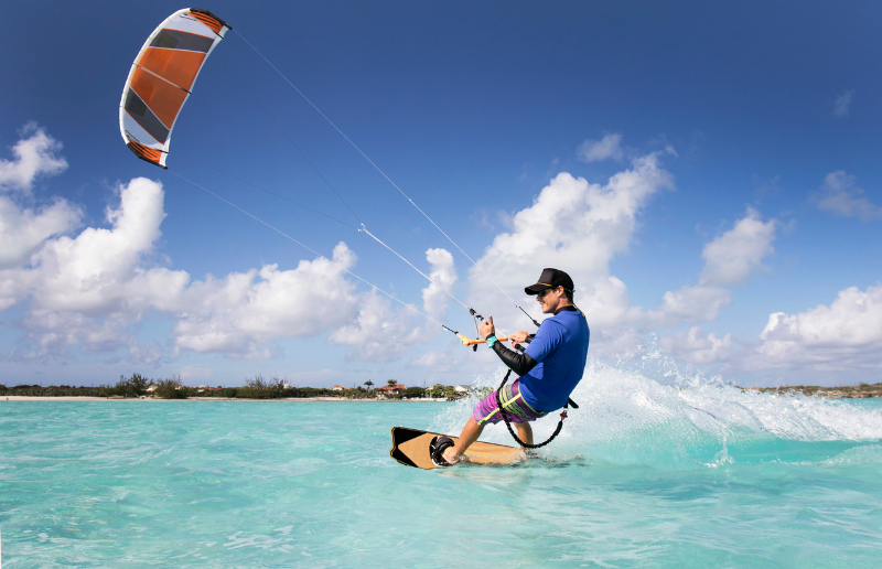 Turks & Caicos Kite Surfing
