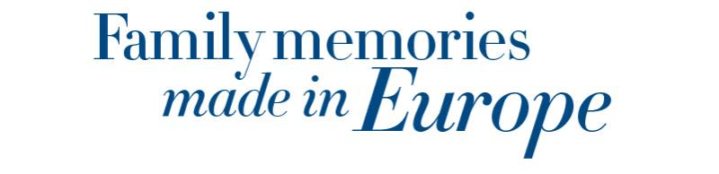 Family Memories made in Europe