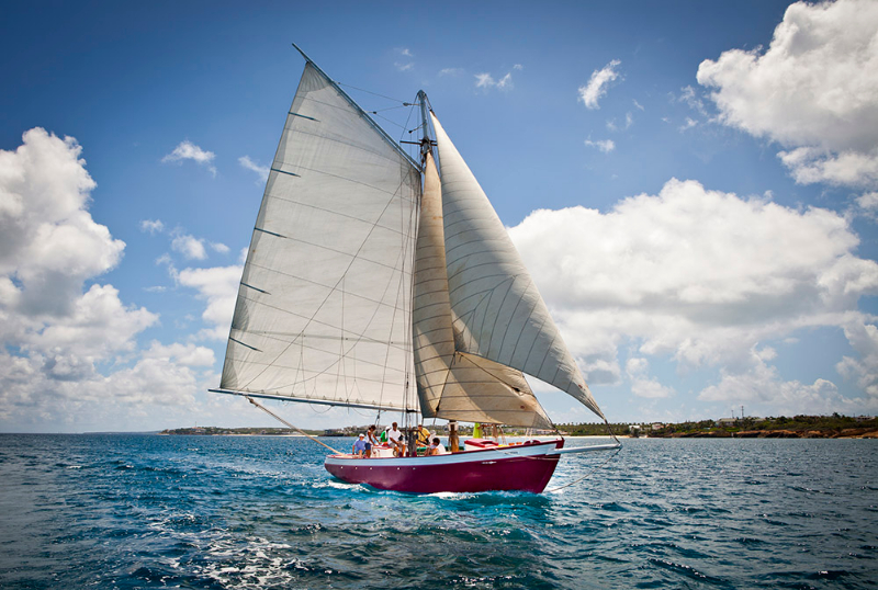 Sailing in Anguilla