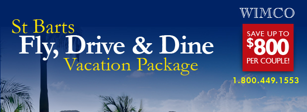 St Barts Fly, Dine & Drive Vacation Package