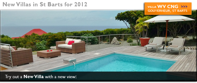 The views were even better than we hoped at Villa WV ING, St Barts