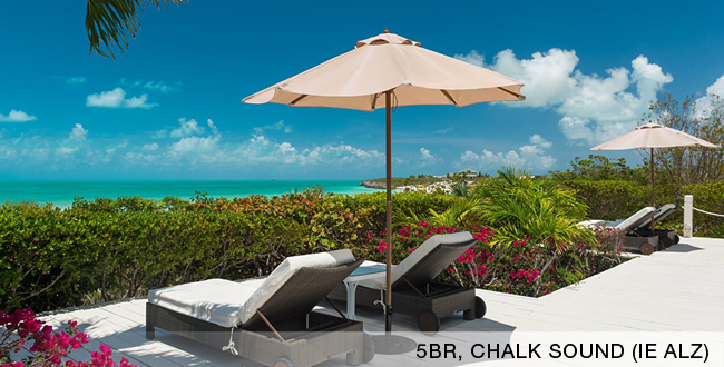 Villa Alizee, Chalk Sound/Taylors, Turks and Caicos
